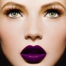 10. violet lips