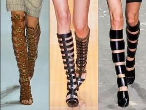 8. gladiator boots