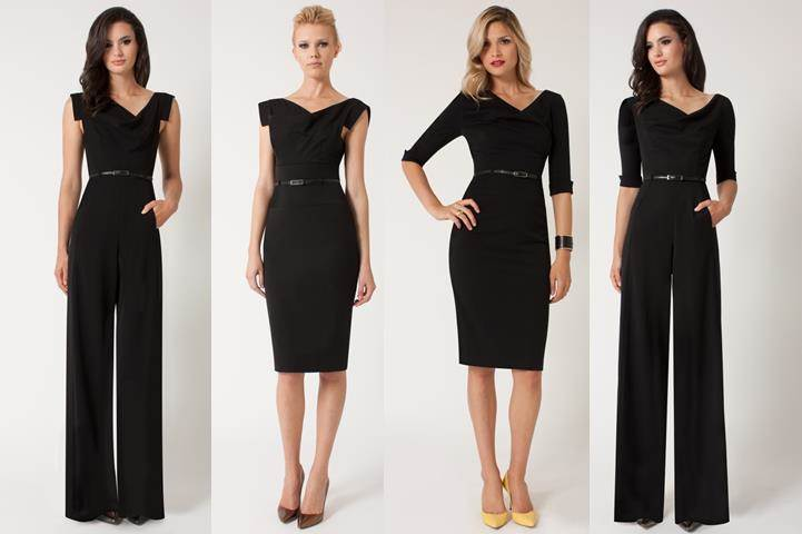Revamp the Classic Black Dress | SharpHeels