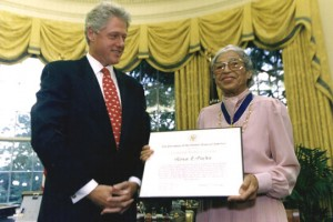 RosaParks-BillClinton