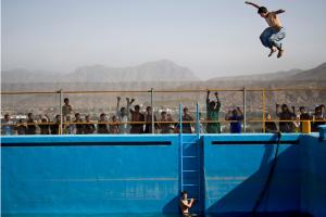 Anja Niedringhaus_AP_AfganiBoyJumping