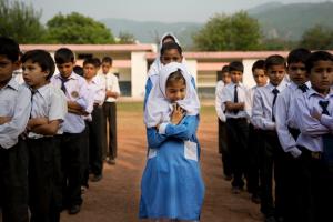 Anja Niedringhaus_AP_PakistaniGirlatSchool