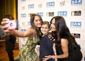 Divas Brie & Nikki Bella at Be A Star event
