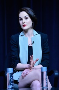 Michelle Dockery of Downton Abbey