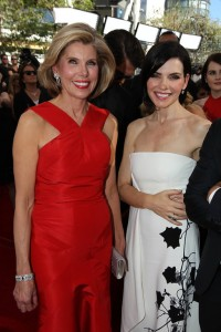 Julianna Margulies & Christine Baranski nominated for Outstanding Lead & Supporting Actresses, The Good Wife