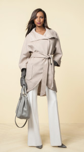Look1_Dolman Sleeve Wrap Coat (248), Liv Flare Leg Trouser (98)