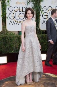 Michelle Dockery Golden Globes