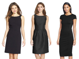 Work Black Dresses