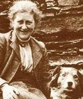 Beatrix_Potter_and_Kep_in_1915