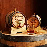 Personalize Whiskey Barrel