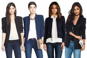Friday = Blazer + Jeans
