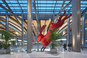 5 Must-See Airport Art Exhibits